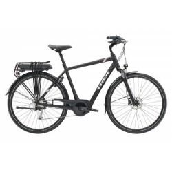 Vélo de Ville Électrique Trek TM2+ 500W Shimano Alivio/Acera 9V Noir / Blanc 2019