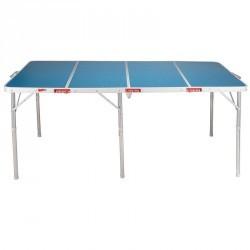 Table XL de camping / camp du randonneur 6 à 8 personnes bleue