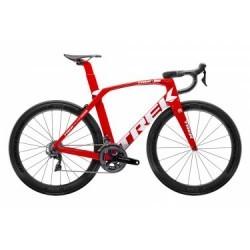 Vélo de Route Trek Madone SLR 8 Shimano Dura Ace 11V 2019 Rouge / Blanc