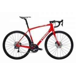 Vélo de Route Trek Emonda SLR 7 Disc Shimano Ultegra Di2 11V 2019 Rouge / Blanc