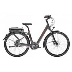Vélo de Ville Électrique Peugeot eC01 N7 400 Wh Shimano Nexus 7V Marron / Marron 2019