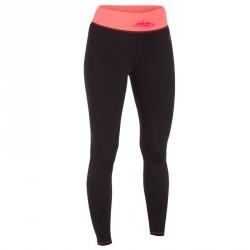 Leggings anti UV Surf 500 femme noir rose