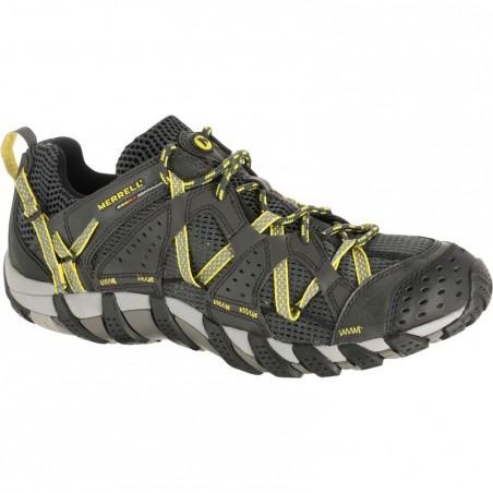 Chaussures de randonnée ventilées homme Merrell Maipo noir/jaune