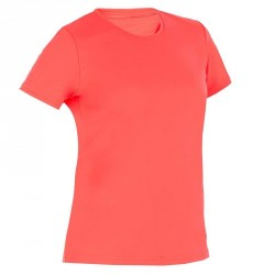 water tee shirt anti UV surf manches courtes femme rose