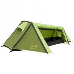 Tente de bivouac / randonnée / trek ARAVIS 1 personne verte
