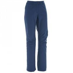 Pantalon Forclaz 100 warm Lady BLEU