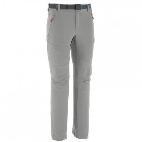 Pantalon Forclaz 500 warm M gris.