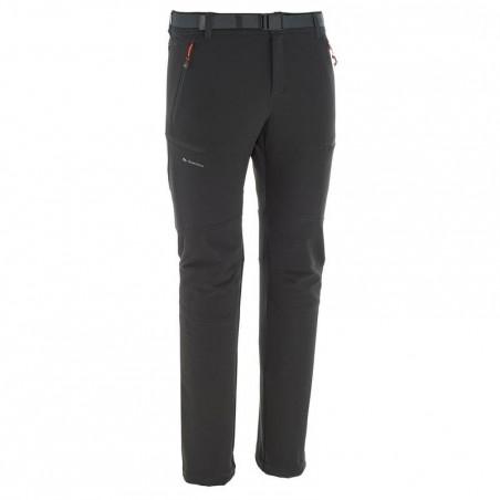 Pantalon Forclaz 500 warm M noir.