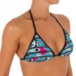 Haut de maillot de bain femme triangle coulissant avec coques MAE ISIKETU