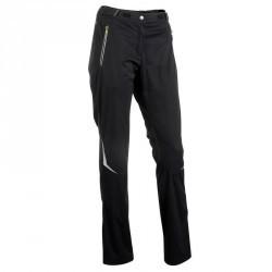 Pantalon de ski de fond coupe vent femme noire