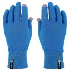 Sous-gants randonnée Adulte Forclaz Touch TACTILES bleu