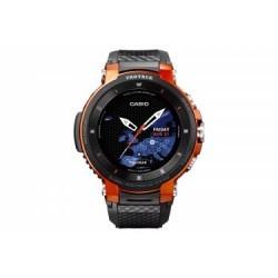 Montre GPS Casio Pro Trek Smart WSD F30 Orange Noir