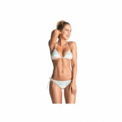 Bikini ROXY Sporty Roxy Tiki Tri Tie Scooter - Olmeque Strip WBT