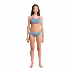 Maillot fille 2 pieces FUNKITA Parliament Party Tankini 2 pièces