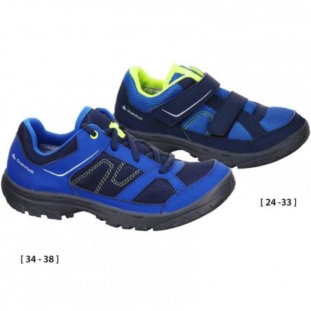Chaussures de randonnée enfant Arpenaz 50 Bleu