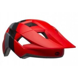 Casque Bell Spark Crimson Rouge Gris Noir