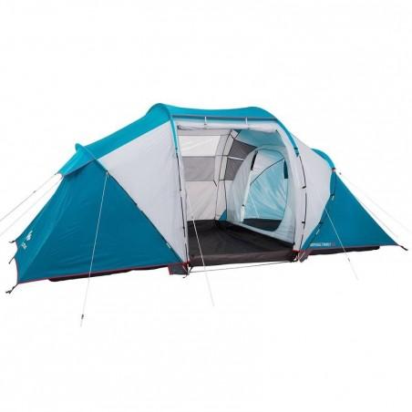 Tente de camping familiale Arpenaz family 4.2 | 4 personnes bleue