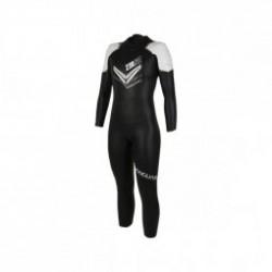 Zerod VANGUARD Black White Femme - Combinaison Néoprène Triathlon