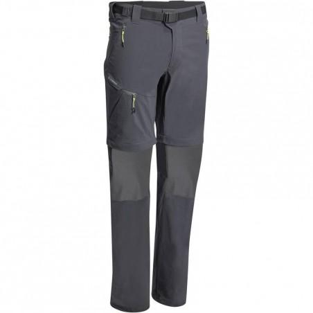 Pantalon Randonnée Forclaz 500 modul homme Gris