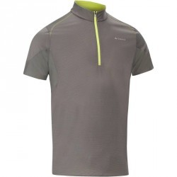 Tee Shirt Manches Courtes Randonnée Tech Frech 500 homme Gris