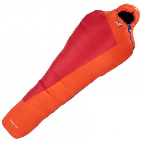 Sac de couchage de bivouac / randonnée / trek FORCLAZ 0° HELIUM rouge