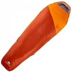 Sac de couchage de bivouac / randonnée / trek FORCLAZ 0/5° ULTRALIGHT ORANGE
