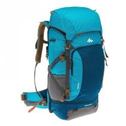 Sac à dos Trekking Escape 50 litres cadenassable femme bleu