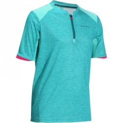 T-Shirt de randonnée fille Hike 900 vert