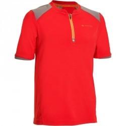 T-Shirt de randonnée garçon Hike 900 rouge