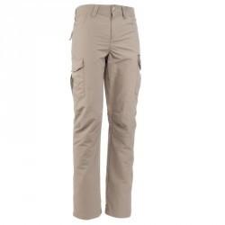 Pantalon trekking Forclaz 100 homme beige
