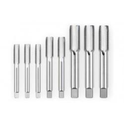 Kit de 8 tarauds Park Tool TAP-TA-SET pour axes de 12, 15 et 20