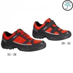 Chaussures de randonnée enfant Arpenaz 50 imperméables Tulip Red