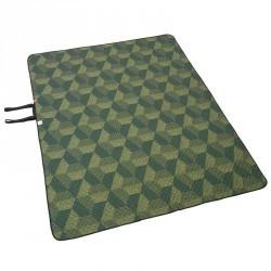 Plaid XL de camping /randonnée vert