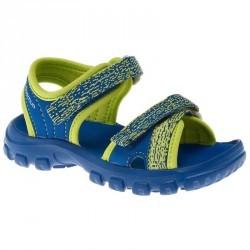 Sandale de randonnée Hike 100 garçon bleu