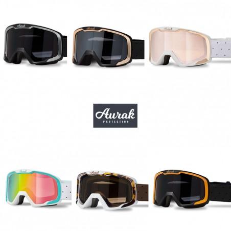 Ensemble Casque & masque de ski AURAK