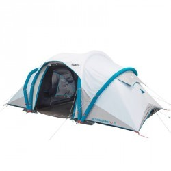 Tente de camping familiale Air seconds family 4.2 xl F&B I 4 personnes blanche
