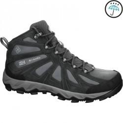 Chaussures de randonnée homme Columbia Lincoln pass mid noir