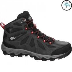 Chaussures de randonnée femme Columbia Lincoln pass mid noir