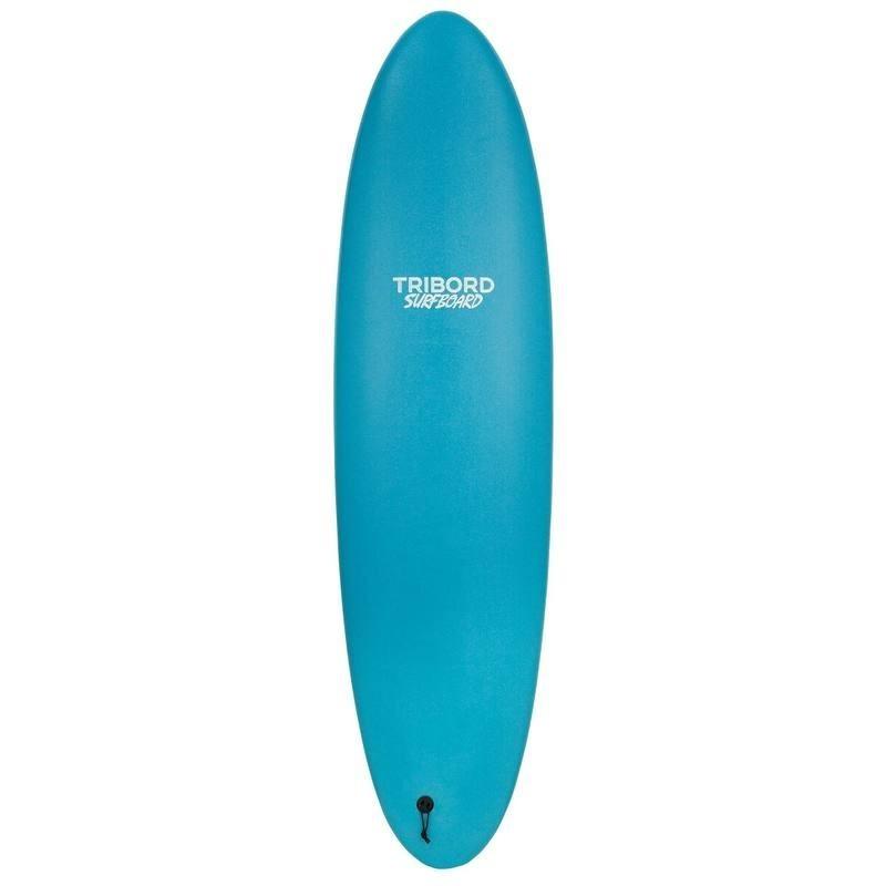 Planche de surf en mousse 900, 7' . Livrée avec 3 ailerons.