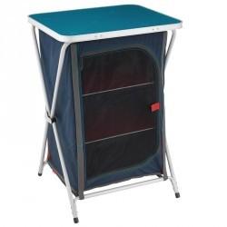 Meuble de rangement de camping / camp du randonneur bleu