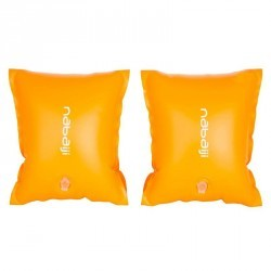 Brassards orange avec deux chambres de gonflages pour enfants de 30 à 60 kg