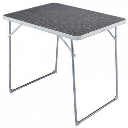 Table de camping / camp du randonneur 4 personnes grise