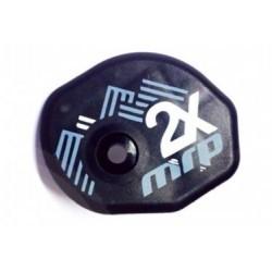 Cache pour Roulette Inférieure MRP pour 2X Noir