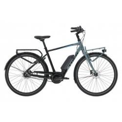 Vélo de Ville Électrique Trek UM2+ 400Wh Shimano Nexus 7V Noir / Bleu 2019