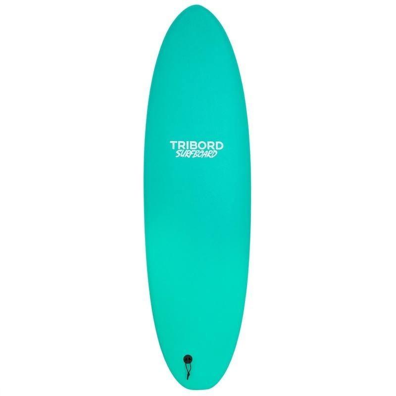 Planche de surf en mousse 900 6'. Livrée avec 3 ailerons.