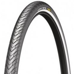 Pneu VTT  Michelin  Protek Max  26 x 1, 40 couleur noir  usage r�gulier et sportif  tringle rigide
