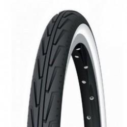 Pneu VTT  junior  Michelinity J  20 x 1.75  Ccouleur Noir/Blanc  usage urbain Tringle Rigide