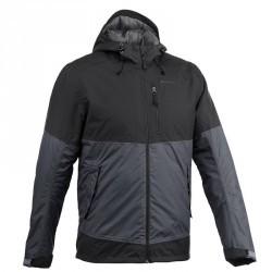 Veste de randonnée neige Homme SH500 chaude Noir