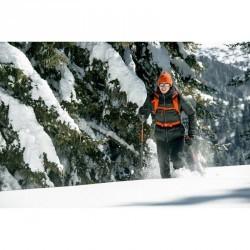 Pantalon de randonnée homme Snow Hiking 900 warm Noir C