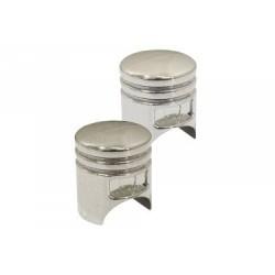 Paire de Bouchons de Valves SB3 Piston Aluminium